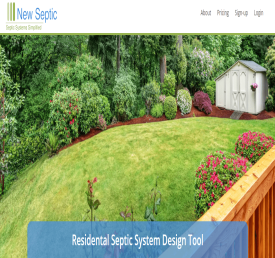 Residental Septic System Design Tool