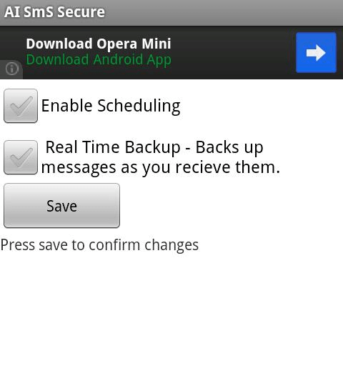 SMS Backup Scheduler & Restore